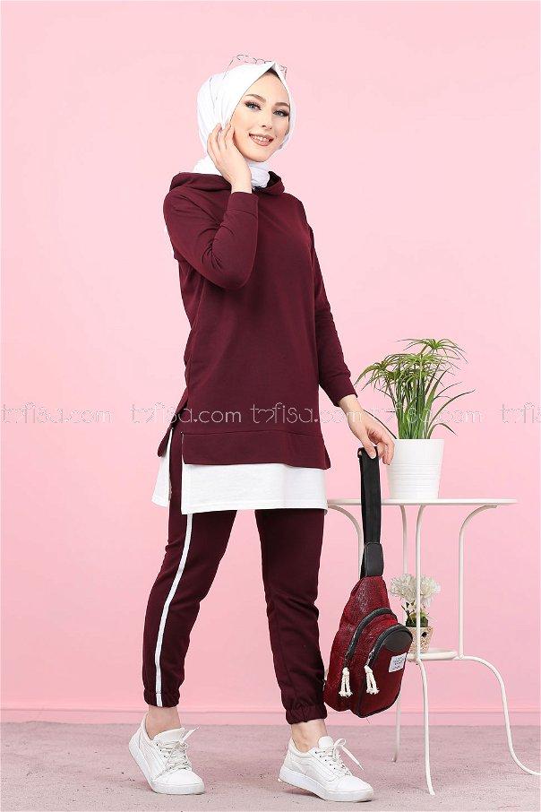 Tunik Pantolon Mor - 8330