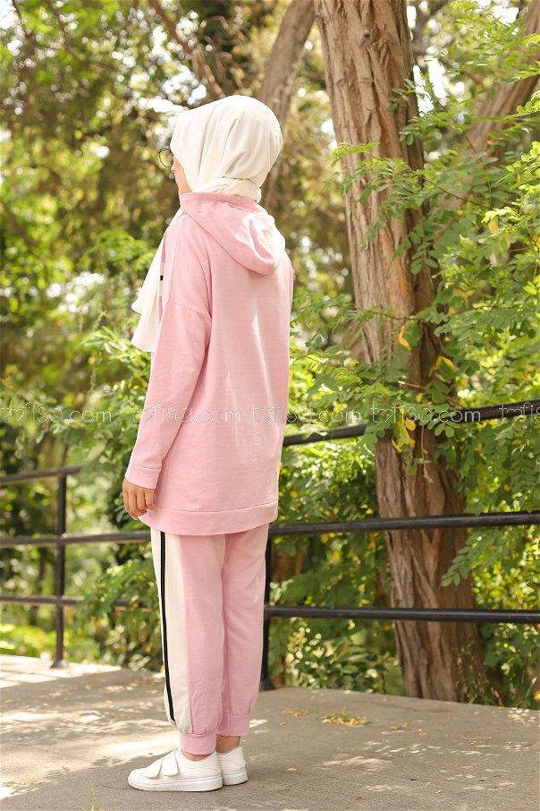 Tunik Pantolon Pudra - 3094