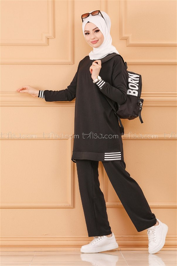 Tunık Pantolon SIYAH - 20634