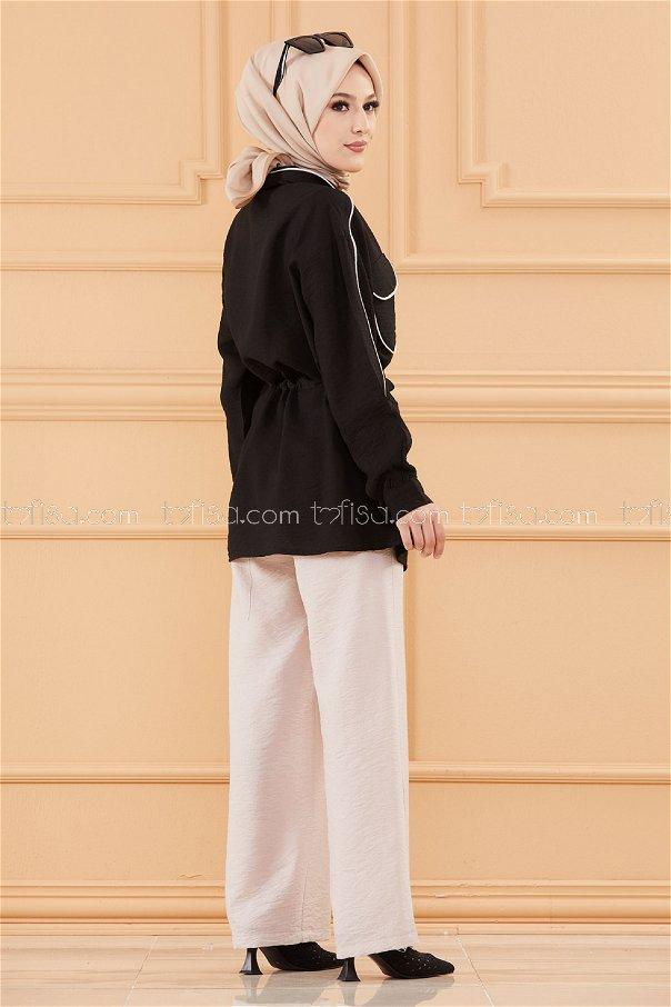 Tunık Pantolon SIYAH - 20649
