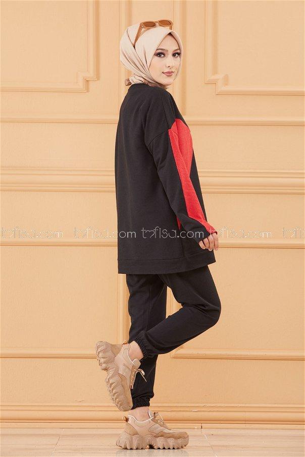 Tunık Pantolon SIYAH - 8814