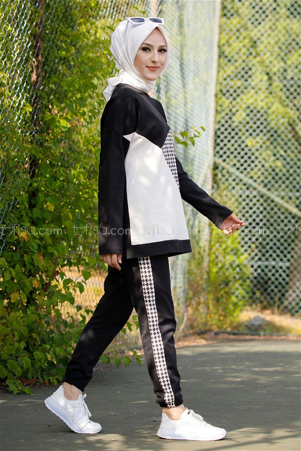 Tunık pantolon SIYAH - 8829