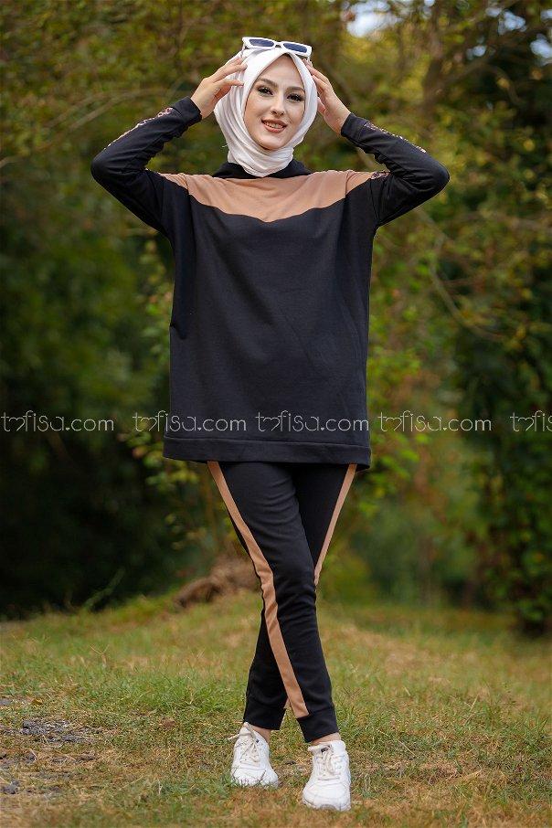 Tunik Pantolon SiyahVizon - 3095