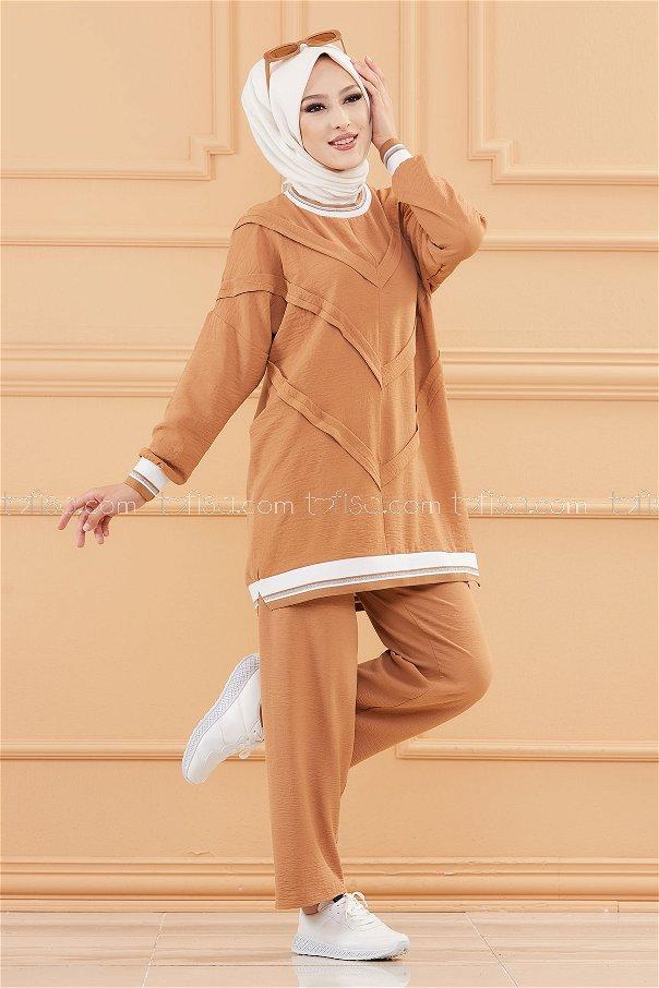 Tunık Pantolon TABA - 20683
