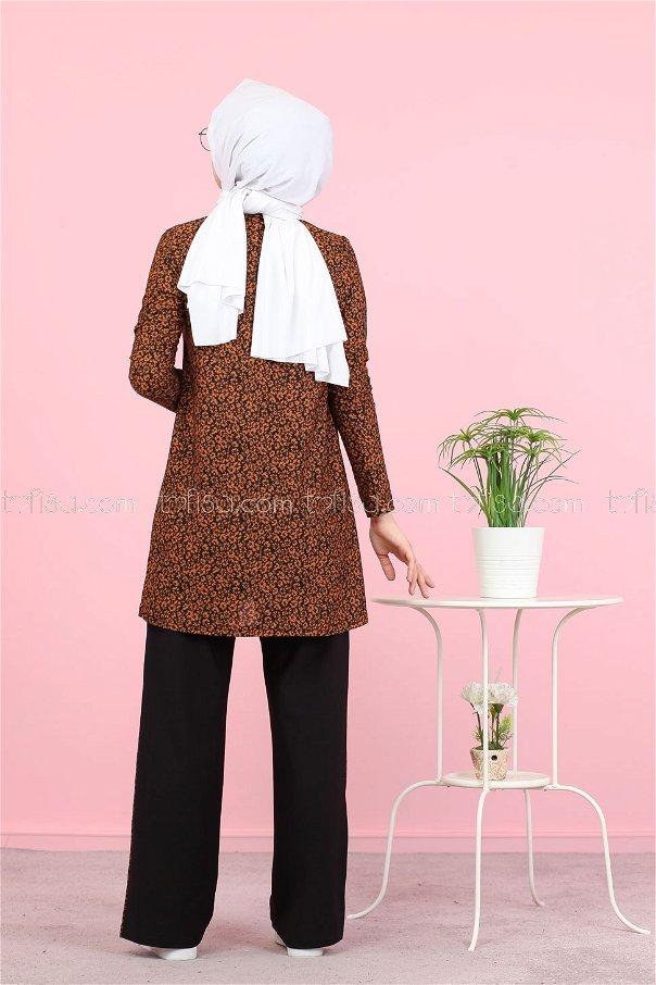 Tunik Pantolon Taba - 3073