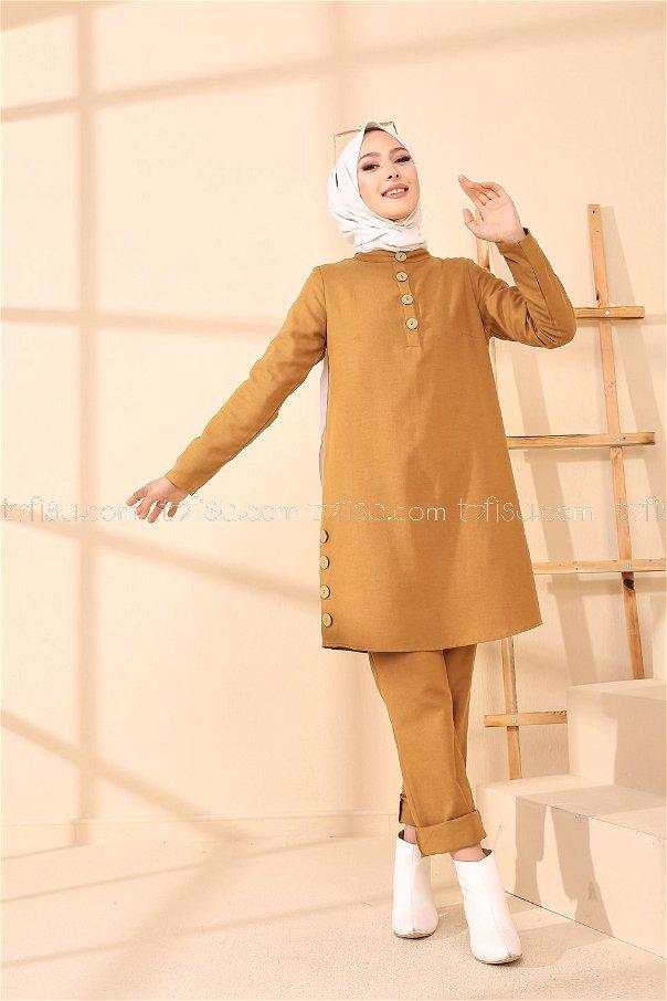 Tunik Pantolon Taba - 8432