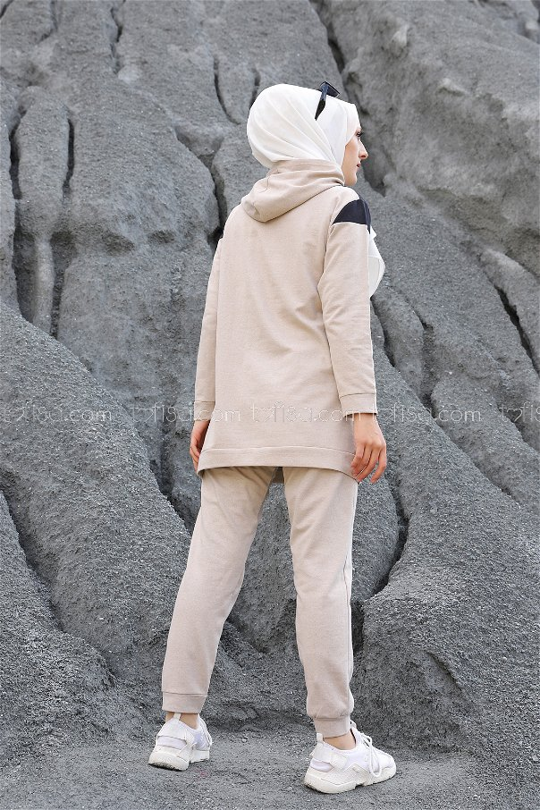 Tunik Pantolon Taş - 2813