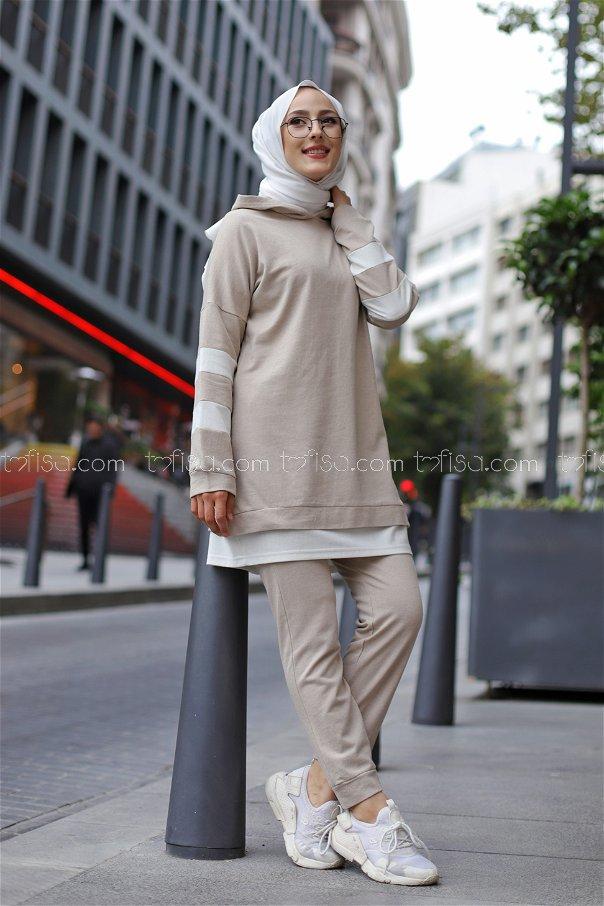 Tunik Pantolon Taş - 3024