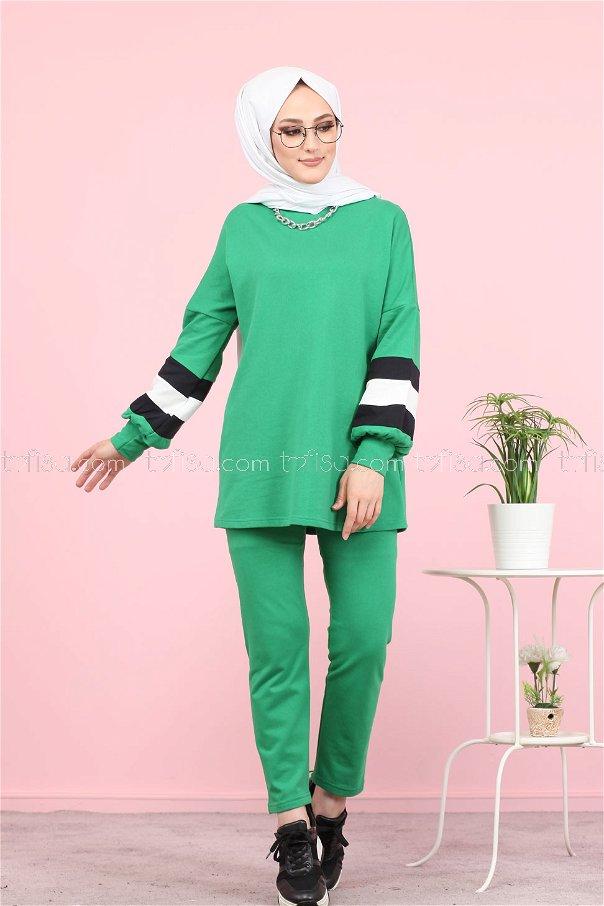 Tunik Pantolon Yeşil - 1362