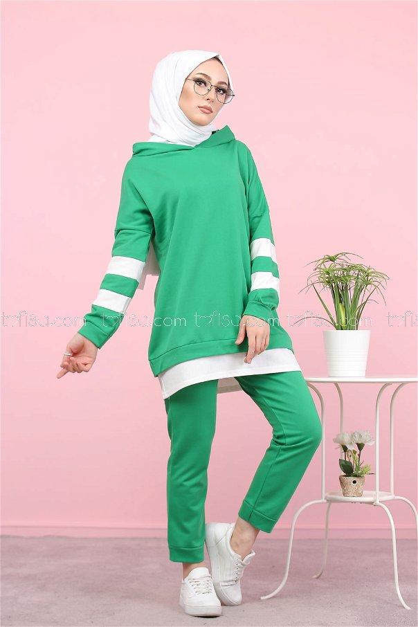 Tunik Pantolon Yeşil - 3024