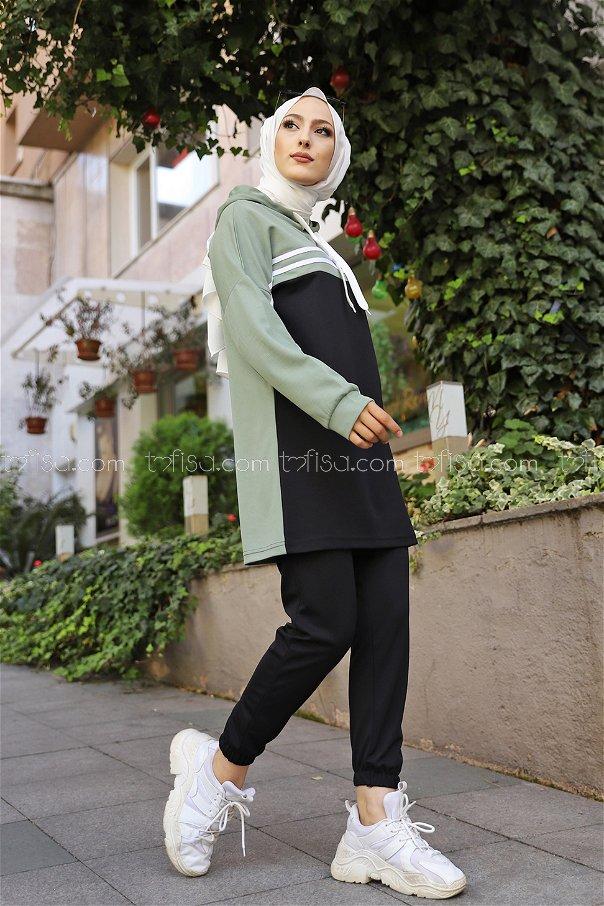 Tunik Pantolon Yeşil - 3302