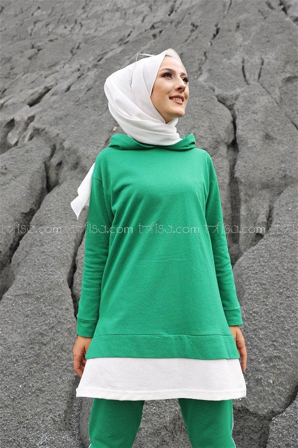Tunik Pantolon Yeşil - 8330