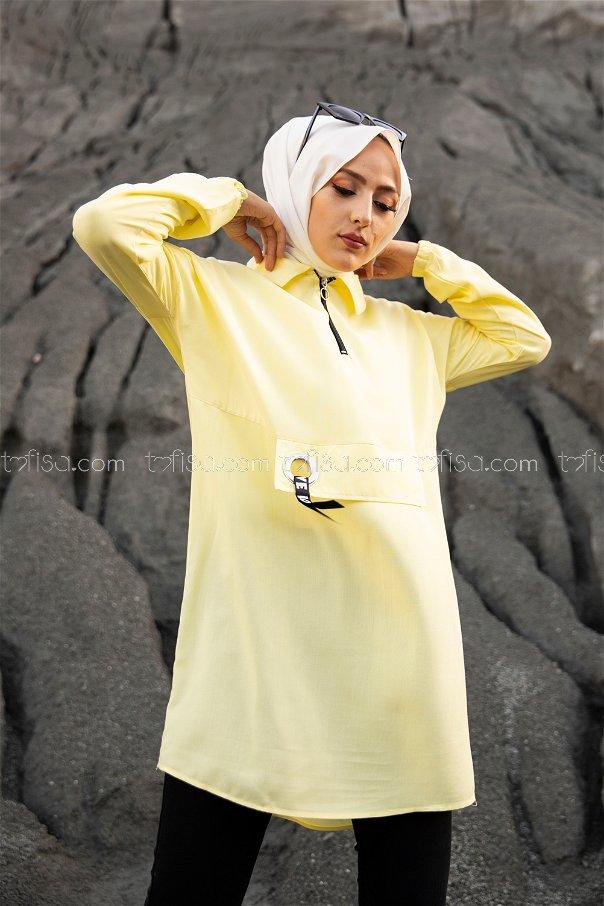 Tunik Sarı - 3276