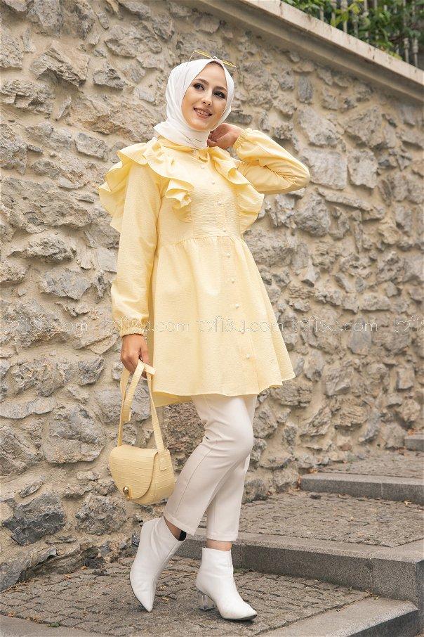 Tunik Sarı - 9059