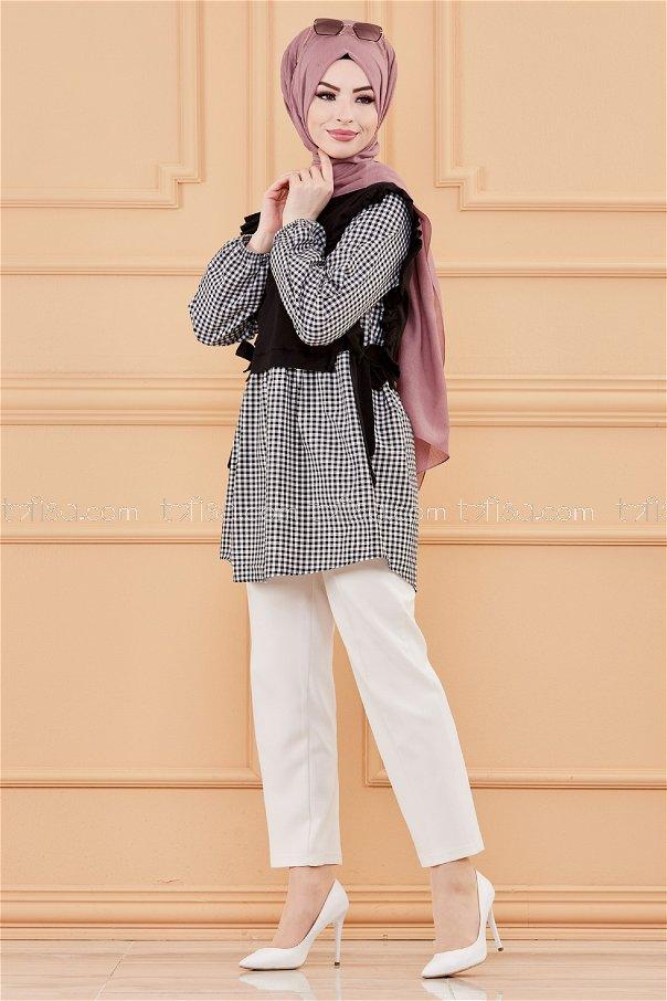 TUNIK SIYAH - 20077