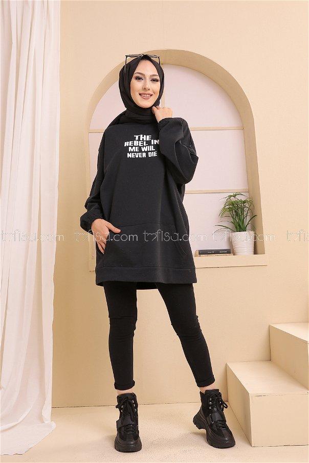 Tunik Siyah - 3358