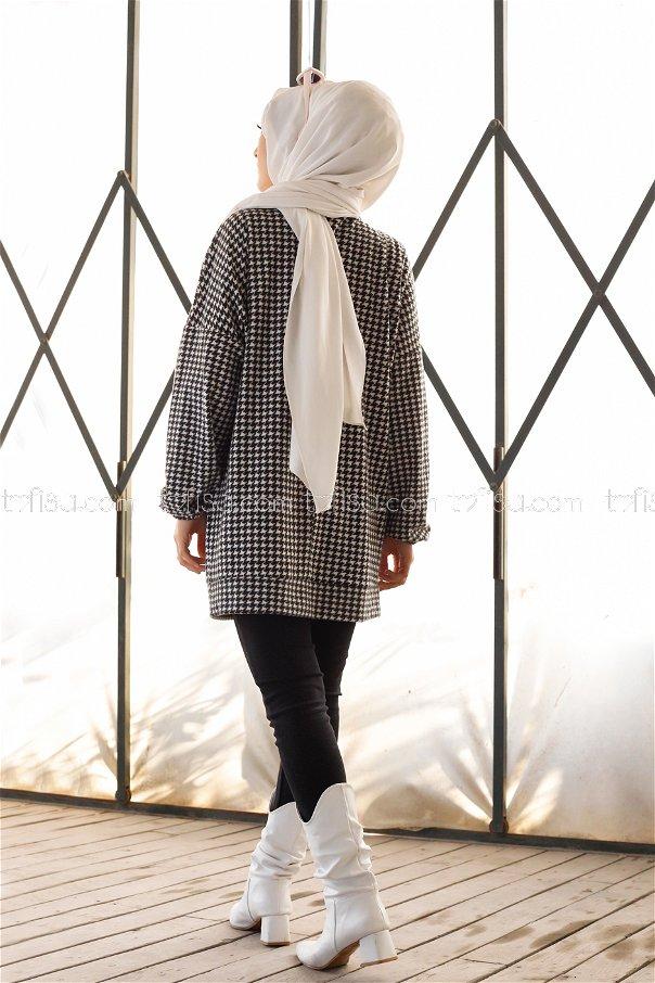 Tunik Siyah Beyaz - 3367