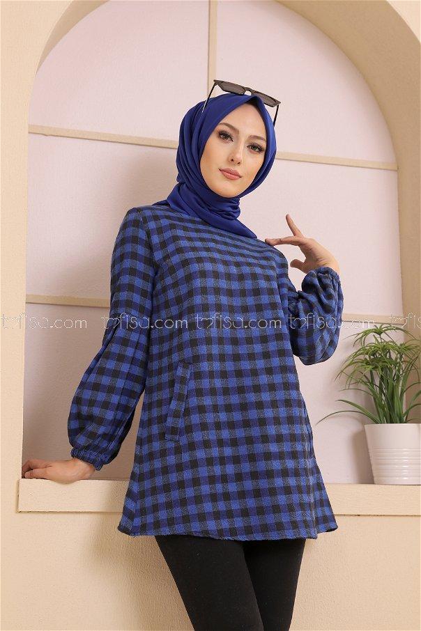 Tunik Siyah Mavi - 3316