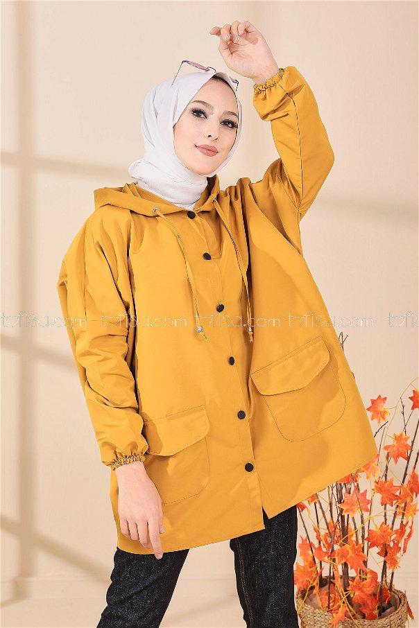 Yağmurluk Hardal - 8665