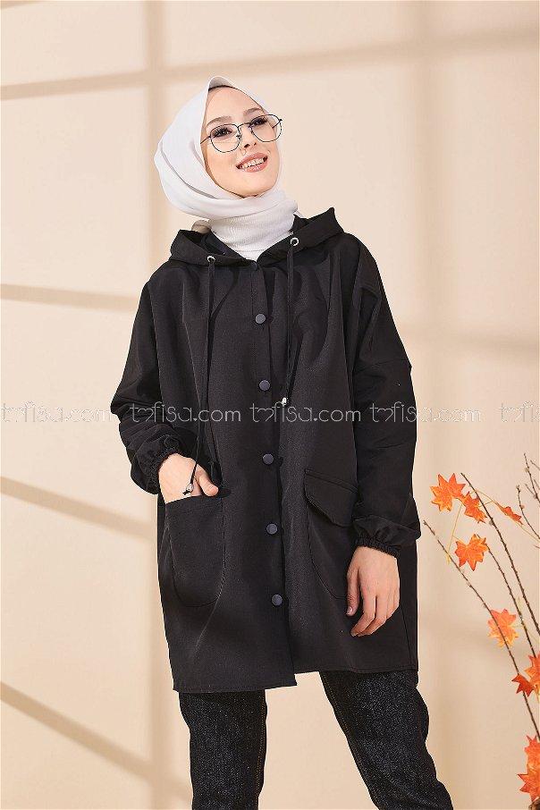 Yağmurluk Siyah - 8665
