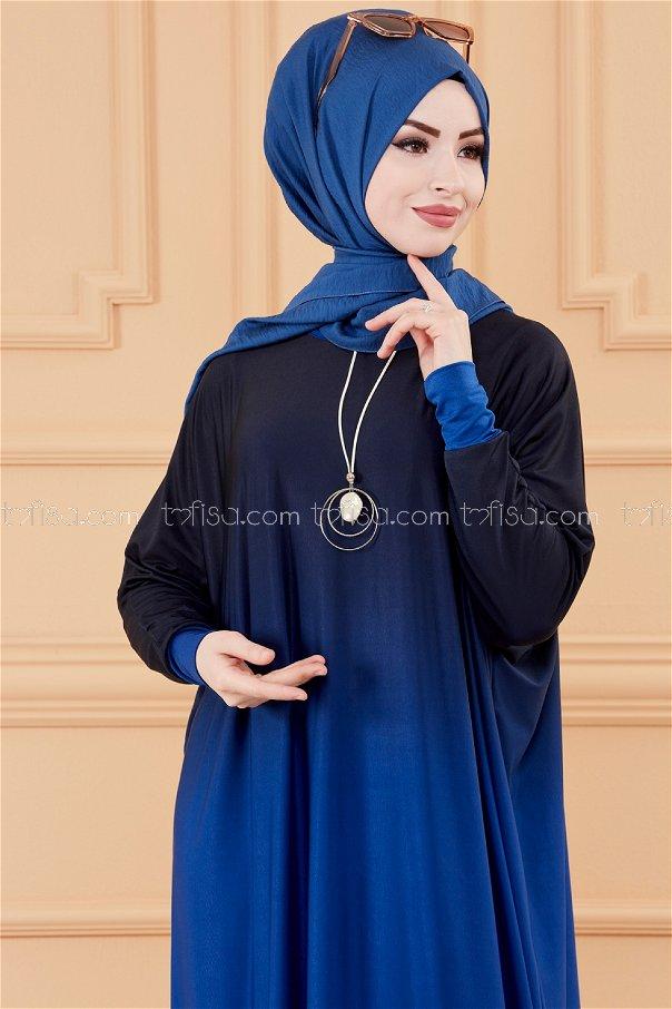 Yarasa Kol Elbise SAKS - 20034