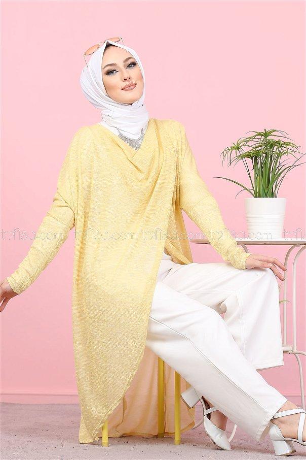 Yarasa Tunik Sarı - 3092
