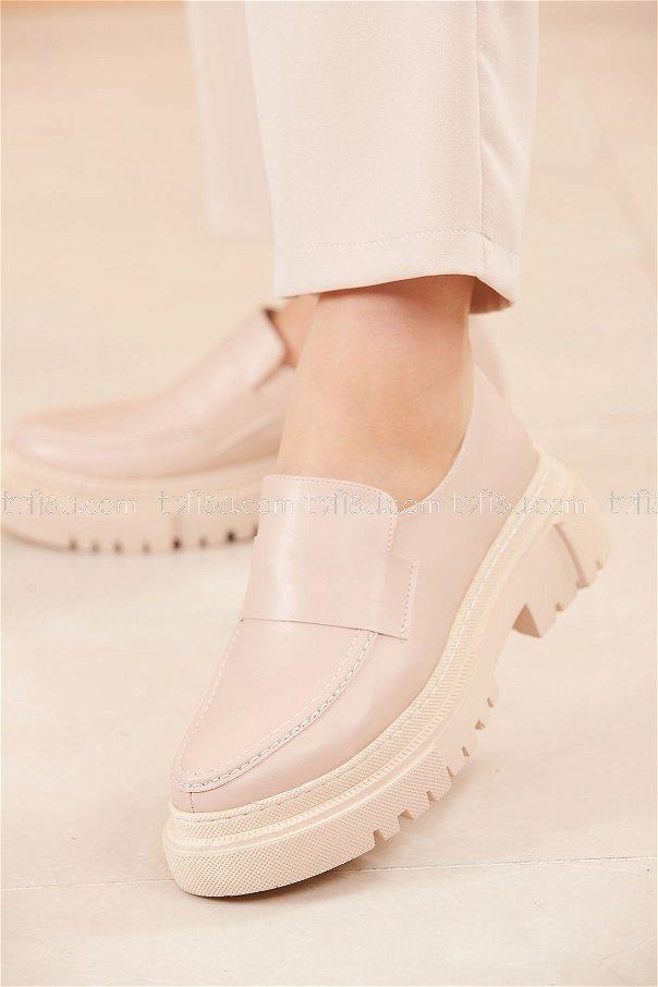 Yuksek Taban Ayakkabı PUDRA - 20662