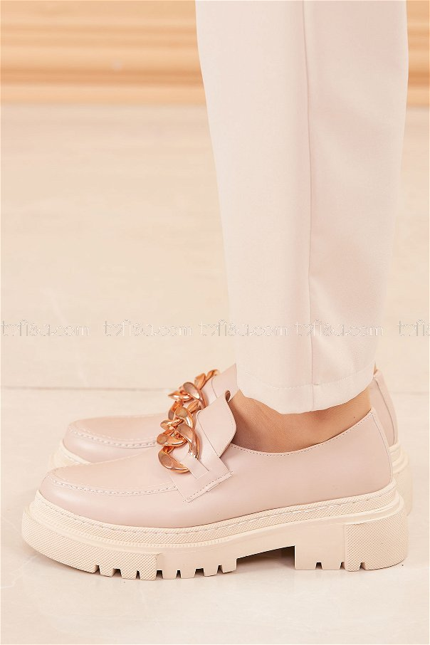 Yüksek Taban Ayakkabı PUDRA - 20682