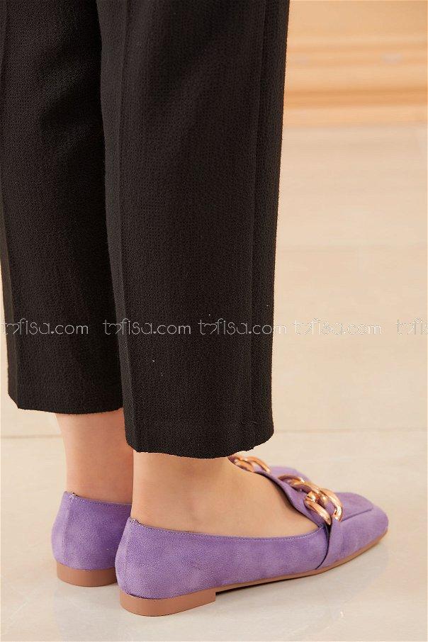 Zıncırlı Babet Ayakkabı LILA - 20590
